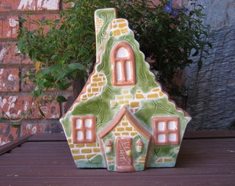 Home Sweet Home- ceramic planter, cottage chic