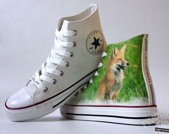 Fox custom shoes with your name (if you want to have your name on them)