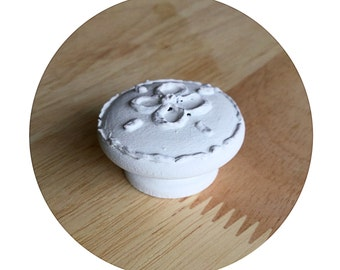 rustic white drawer knobs shabby chic white drawer pulls wood cabinet cookie knobs