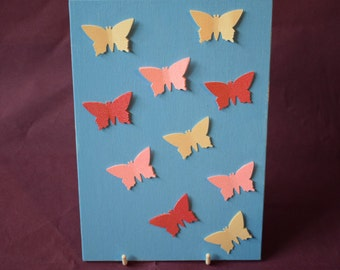 Small Blue Butterfly Canvas