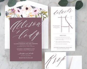 Soft + Romantic Wedding Invitations