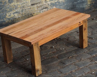 Reclaimed douglis fir coffee table