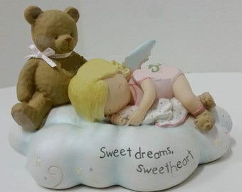 """Cutie Patootie Figurine """"Sweetdreams Sweetheart"""" by Homeco in excellent condition"""