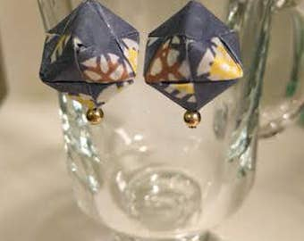 Origami Square Earring