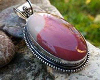 Beautiful Moukaite pendant