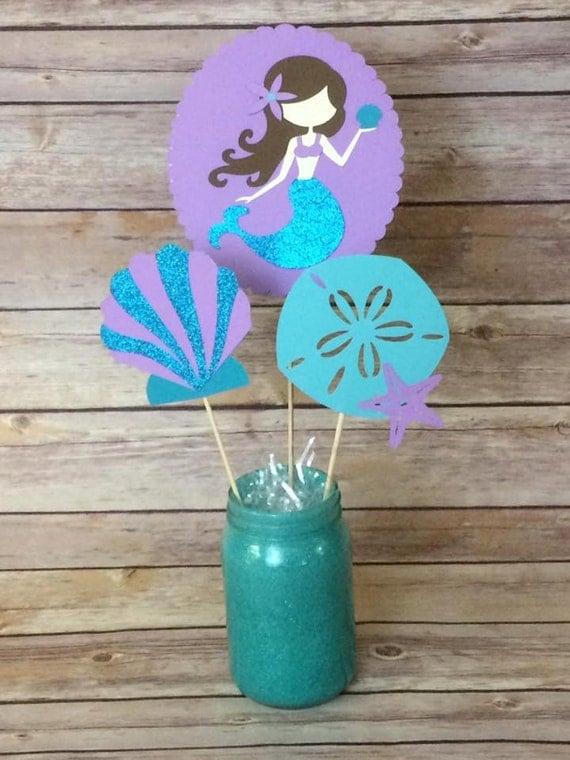 Mermaid Party Centerpieces