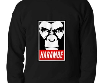 HARAMBE Long sleeve t-shirt xmas cool sweater