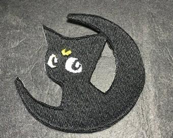 Luna / Sailor Moon patch / applique