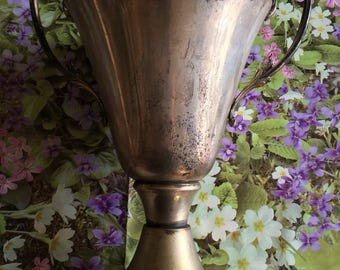OLD silver TROPHY CUP