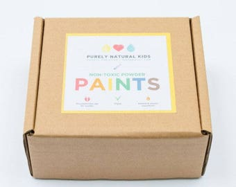 Non-Toxic Natural Paint Kit