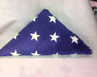 Special American Flag from the Navy, flew over the USS Arizona, Newyears Eve 1984