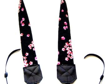 Pink Floral Camera Strap/DSLR Camera Strap/Camera Accessory/Photographer Gift/Travel Gear