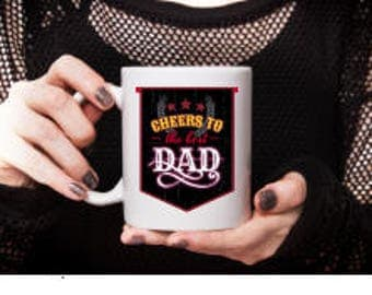 Fathers Day Gift, Fathers Day Shirt, Fathers Day Mug, Fathers Day Cup, Gift for Dad, Present for Dad, Gifts Under 20, Cheap gifts for Dad
