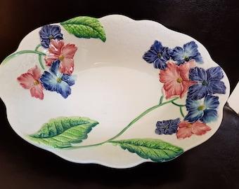 Carlton ware flowered bowl