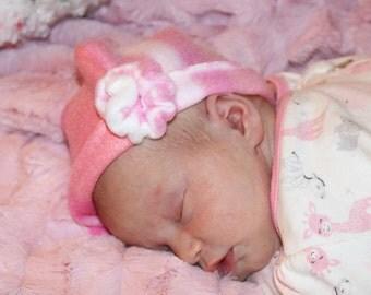 Fleece Winter hat with Rosette-Baby Boggsies Original