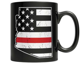 Limited Edition Firefighters - I fight what you fear Arizona Brotherhood Mug