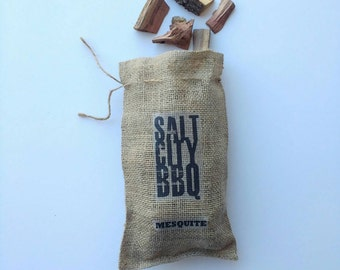 Salt City BBQ Wood | Barbecue Premium Taste | Smoker | Smoked Woods | Manly Gift | Father's Day | Gift for Dad or Husband | Outdoorsman