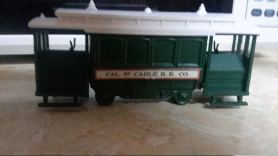 Avon cable car decanter cal.st.cable r.r. co.