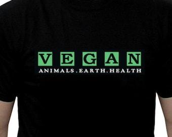 Vegan t shirt, vegan for animal rights, Vegan tee, vegan shirt, animal rights shirt, vegan clothing