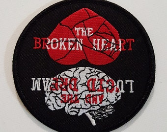 The Broken Heart and The Lucid Dream Iron On Patch