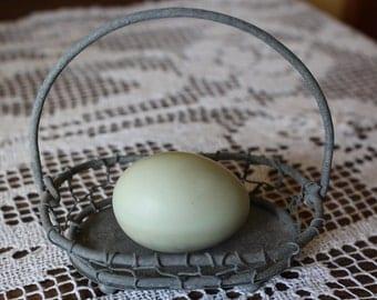 Blown Eggs, Mint Green Eggs, Pale Green Eggs,  Hand blown Eggs, Real Eggs, Chicken Eggs, Craft Eggs