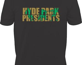 Hyde Park Presidents Football Knockout Design