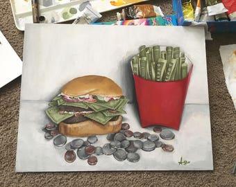 Greasy Greed