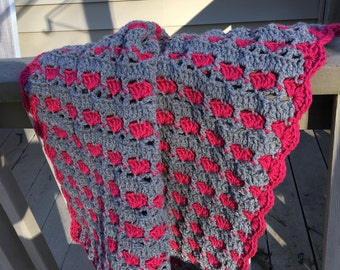 Lovely Hearts Baby Blanket