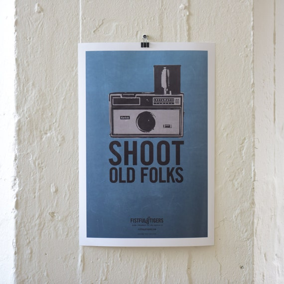 13X19 PRINT / SHOOT OLDFOLKS