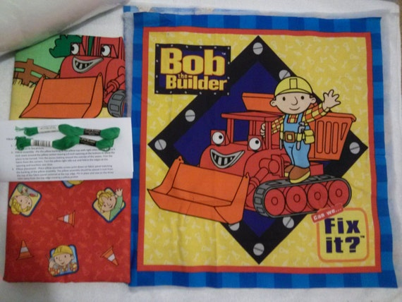 Bob The Builder - Pillow Quilt Kit 107