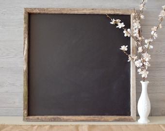 Rustic Farmhouse Reclaimed Framed Chalkboard