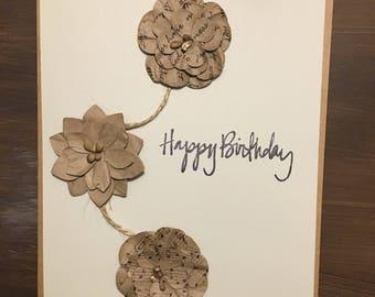 Happy birthday, Birthday cards, handmade