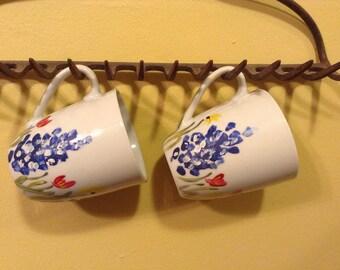 Bluebonnet Coffee Mugs (Set of 2)
