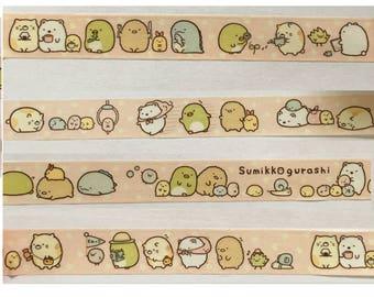 Sumikko Gurashi washi tape sample