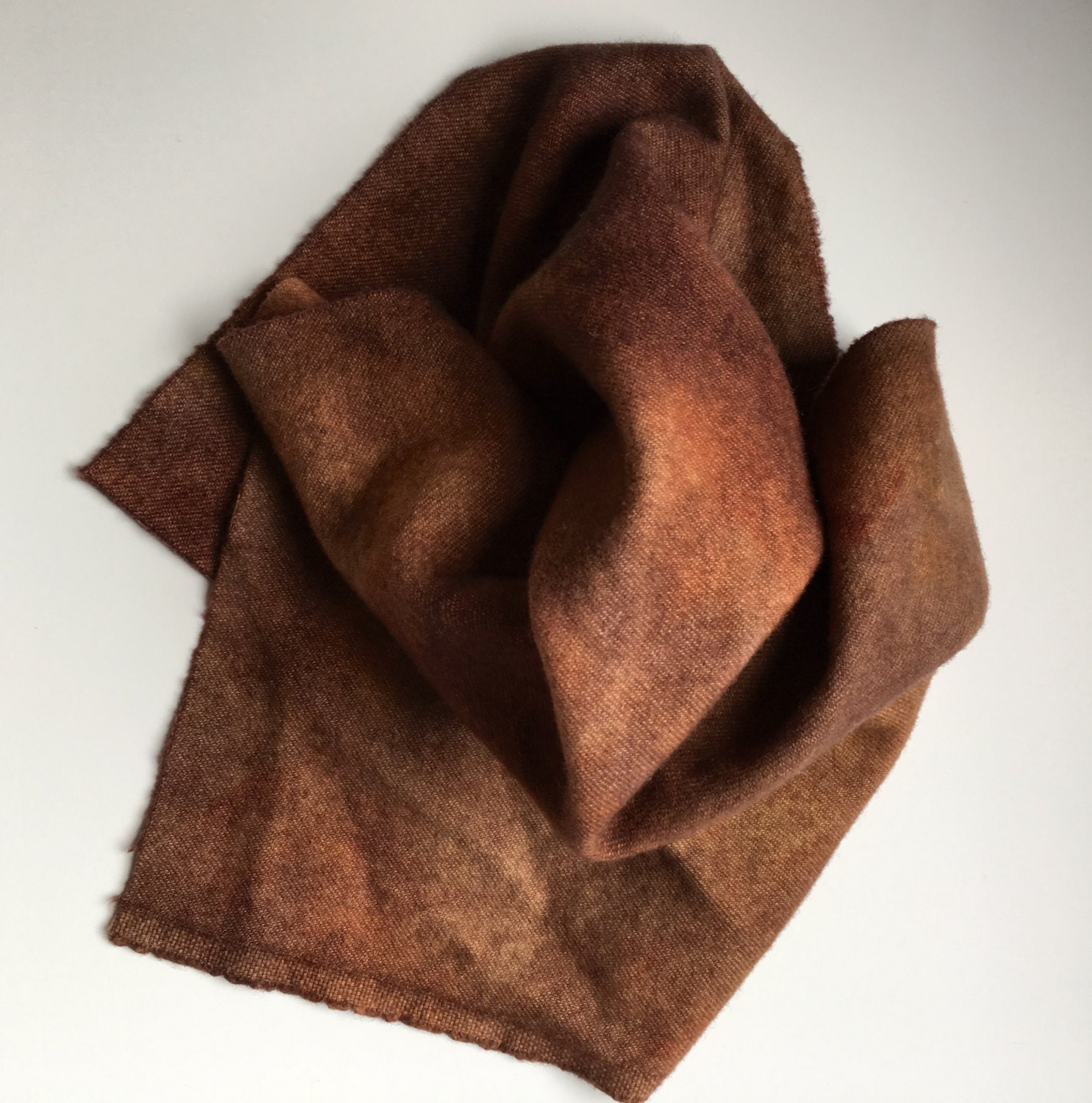Chocolate Brown, Hand Dyed Wool, Fat Quarter Yard, Felted Wool Fabric for  Rug Hooking, Wool Applique and Crafts