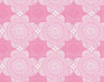 Doily Pink from Gembrook range by Ella Blue x 25cm