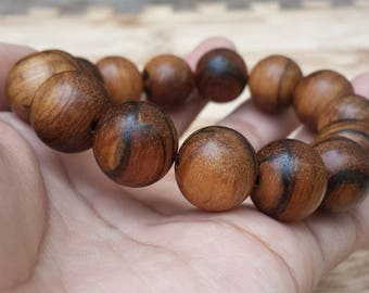 bracelet zebra agarwood 16 mm