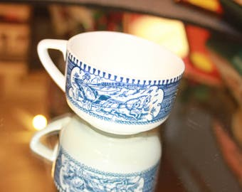 Currier and Ives Tea Cup