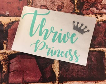 Thrive princess level thrive decal