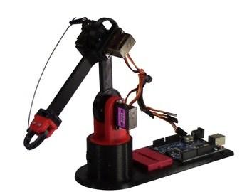 LittleArm Arduino Robot Arm Kit (No Arduino)