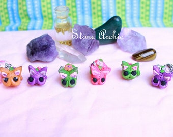 Little Spring Misty Kitty Charms