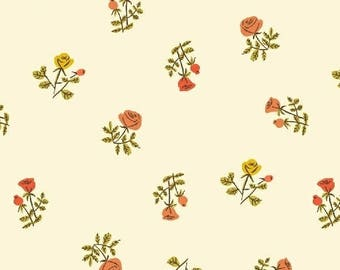 Small Roses from Windham's Fabrics, Tiger Lily Fabric Collection,  100 % cotton, Quilting, Fabrics, Sewing