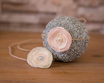 Handmade Newborn/Baby Headbands/Tiebacks - Photography Props