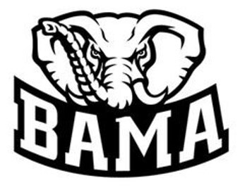 Alabama inspired Logo