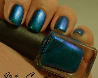 Blue Bayou - Blue Duochrome Nail Polish