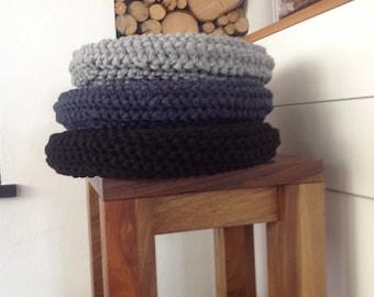 Crochet cushions / floor cushions