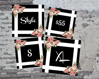 Fashion Consultant Size/Style/Price Cards