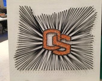 Oregon State String Art