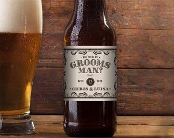 Beer Labels, custom beer labels, custom labels, custom celebration labels, beer, beer label, personalized beer labels, groomsman