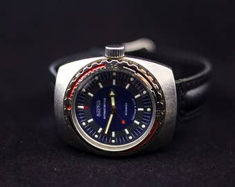 Mens watch, Vostok watch, soviet watch, ussr watch, military watch, vintage watch, mechanical watch, mens vintage watches, collectable watch